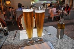Menton' da bira molası