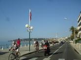 Menton sahil yolu