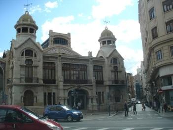 Mercado Central ana kapısı