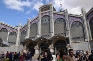 Mercado Central yan kapısı