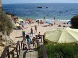 Plaj girişi