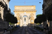 Rue Foch üzerinden zafer takı
