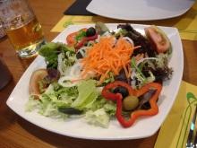 Salata tabağı