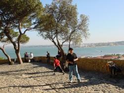 Sao Jorge kalesinden körfez