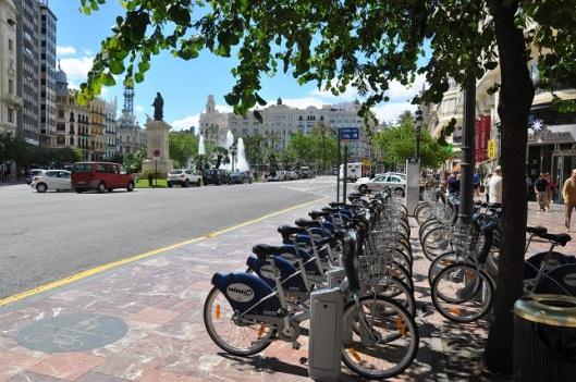 Valenbi bisiklet sistemi