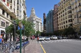 Valencia şehir görüntüsü