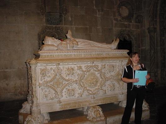 Vasco de Gama' nın mezarı