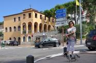 La Turbie' de yol ayrımı