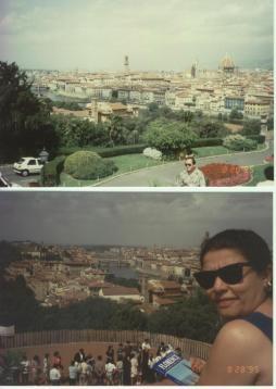 1995 ziyaretinden iki resim