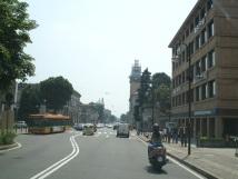 Aşağı şehirden bir görüntü