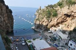 Amalfi yolunda Furore koyu