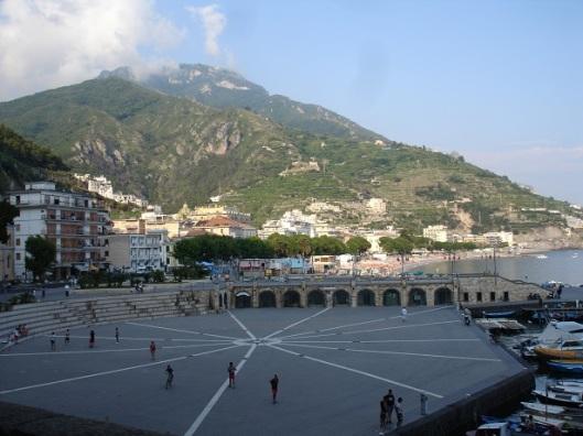 Amalfi'de meydan