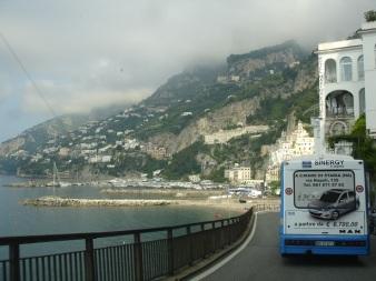 Amalfi'ye giriş