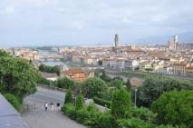 Arno nehri ve Vechhio köprüsü
