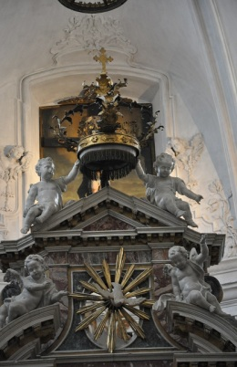 Basilika içinden bir görüntü