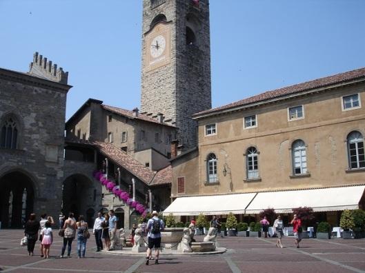 Bergamo eski kule