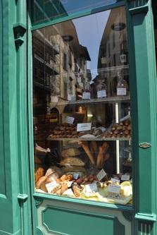 Bergamo'da bir fırın