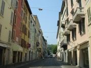 Citta Alta' ya çıkan yol