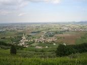 Dağdan ovanın görüntüsü