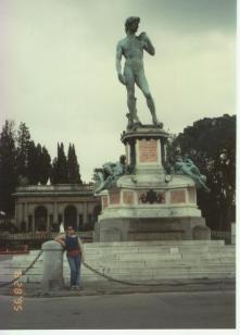 David heykeli, 1995