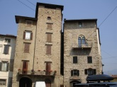 Eski Bergamo evleri