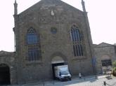 Eski şehirde bir kilise