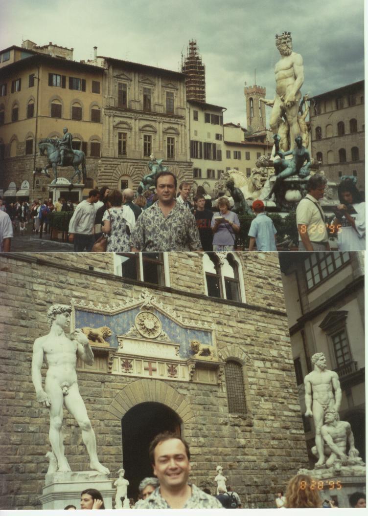 Fontana del Nettuno ve Plaza della Signora