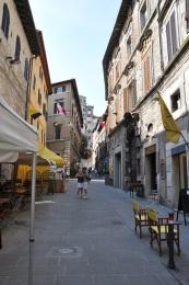 Perugia sokakları