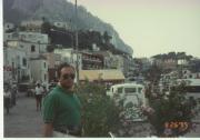 Capri adasında, yıl 1995