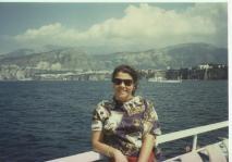 Capri adasına yolculuk, yıl 1995