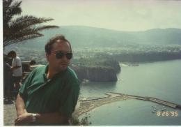 Amalfi sahiline tepeden bakış, yıl 1995