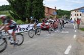 Tur direktörünün aracı ve yarışçılar