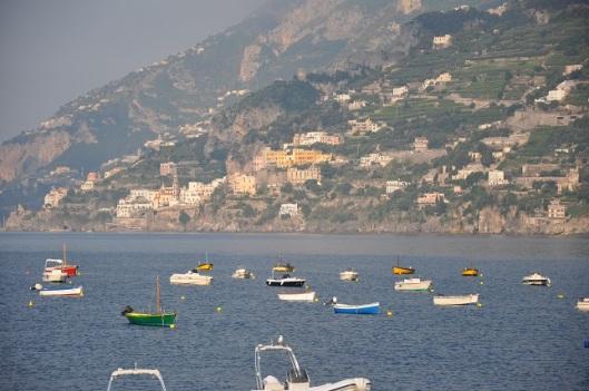 Amalfi'de sabah