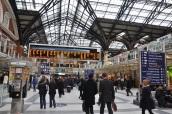 Liverpool Street İstasyonu içi