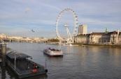 London Eye ve Thames