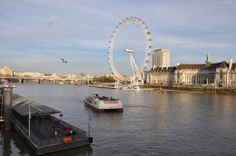 London Eye ve Thames