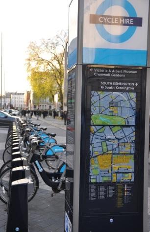 Londra bisiklet kiralama sistemi