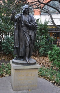 Metodist'lerin babası John Wesley