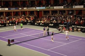 Royal Albert Hall'de tenis turnuvası