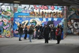 South Bank'ta duvar süslemeleri