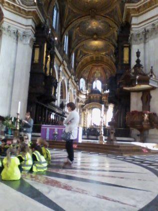 St.Paul's Katedrali ana holü