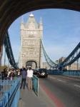 Tower Bridge üzerinde