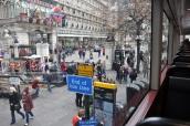 Trafalgar Meydanından bir köşe