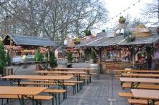 Winter Wonderland'da Alman piknik lokantası
