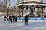 Winter Wonderland'da buz pisti