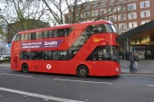 Yeni ve modern otobüs