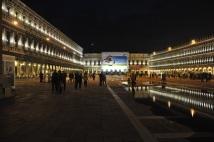 Gece St. Mark meydanı