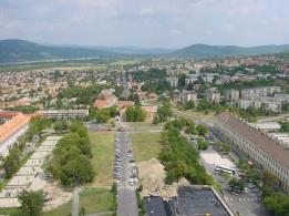 Katedral tepesinden Esztergom