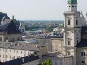 Salzburg Katedrali yukarıdan