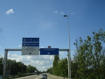 Strasbourg yolunda